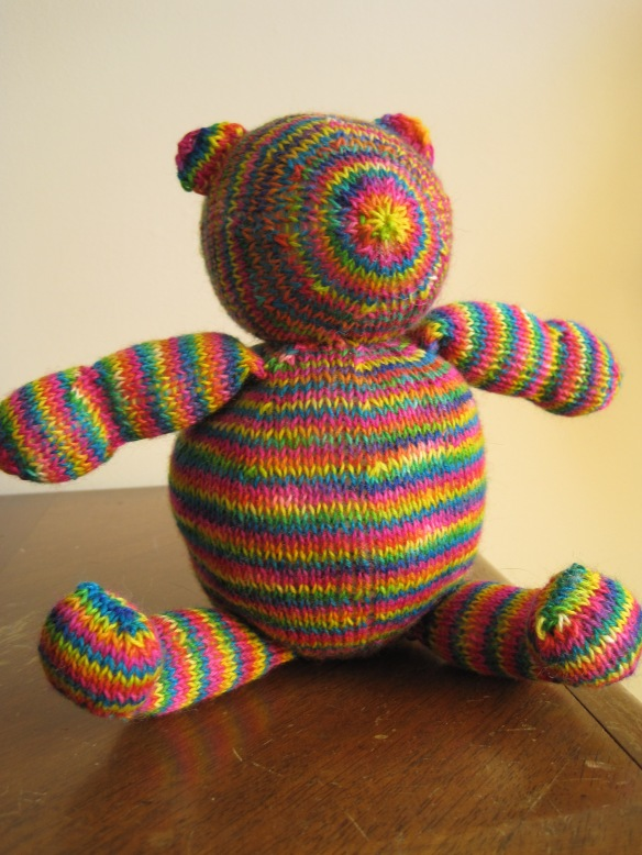 finished baby bear